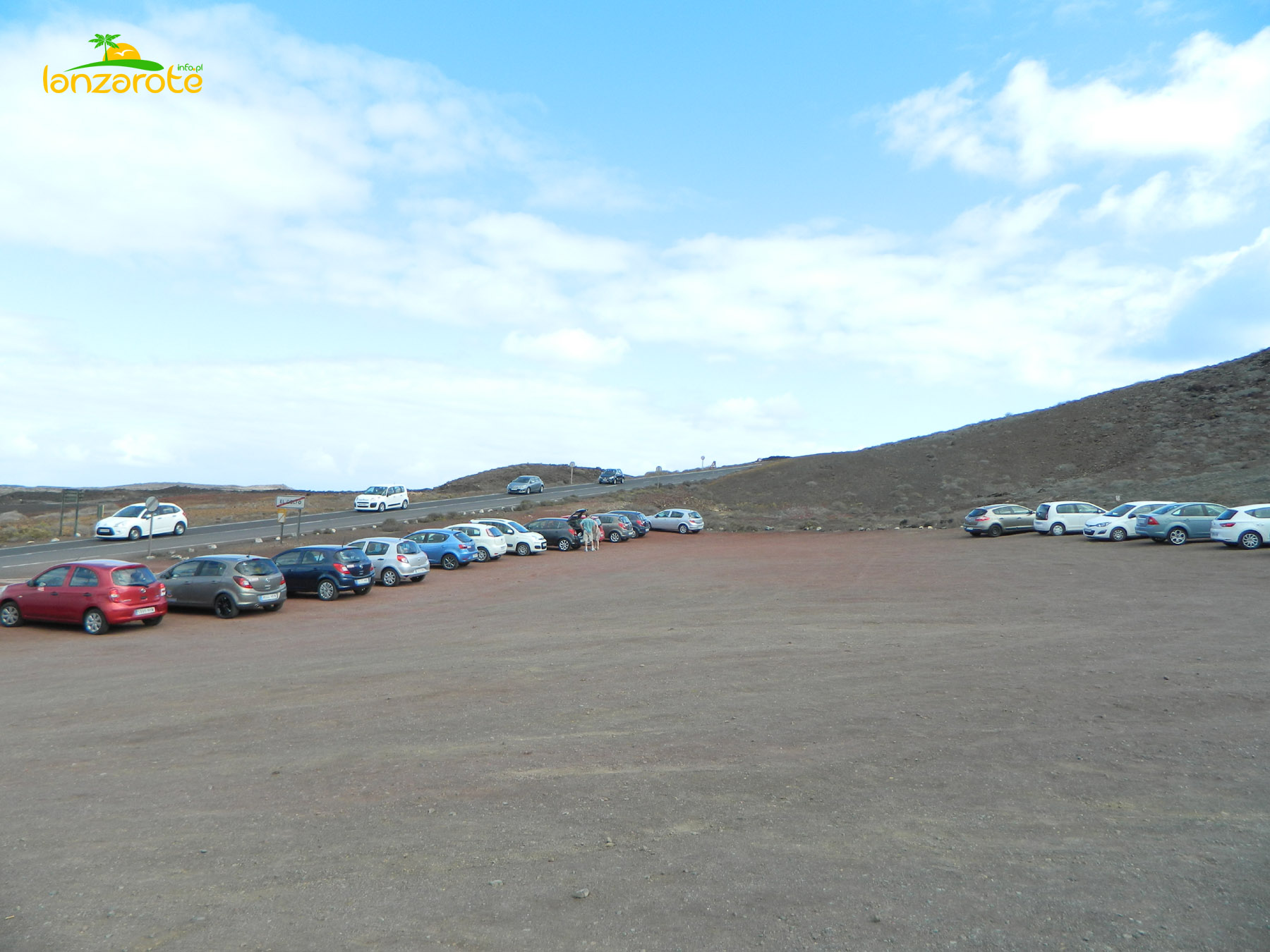 El Golfo - parking