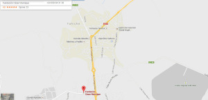 Fundacja Cesara Manrique - mapa