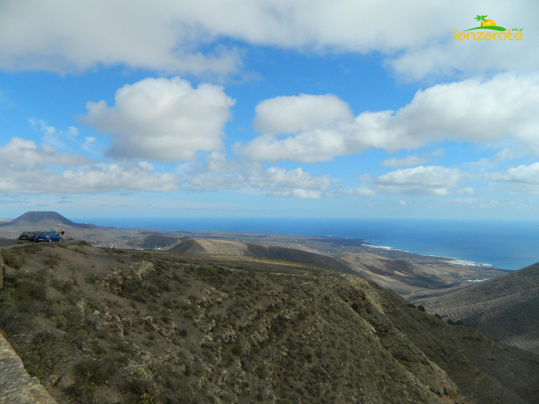 Lanzarote - punkt widokowy