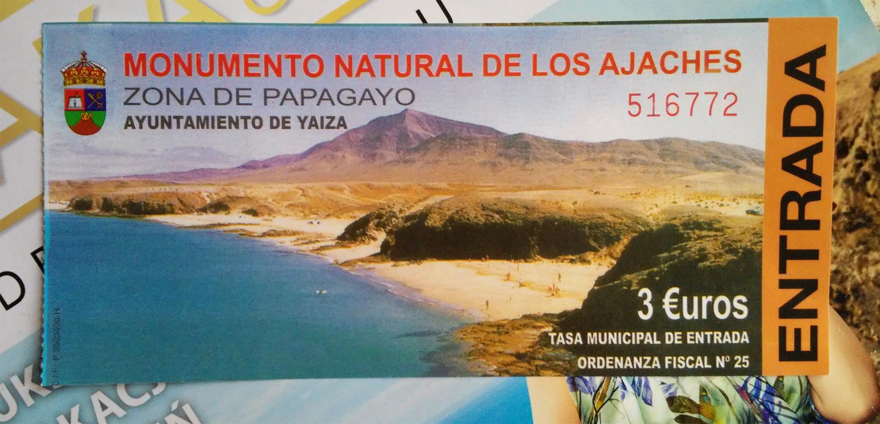 Papagayo - bilet wstępu
