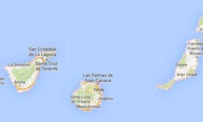 Wyspy Kanaryjskie - mapa